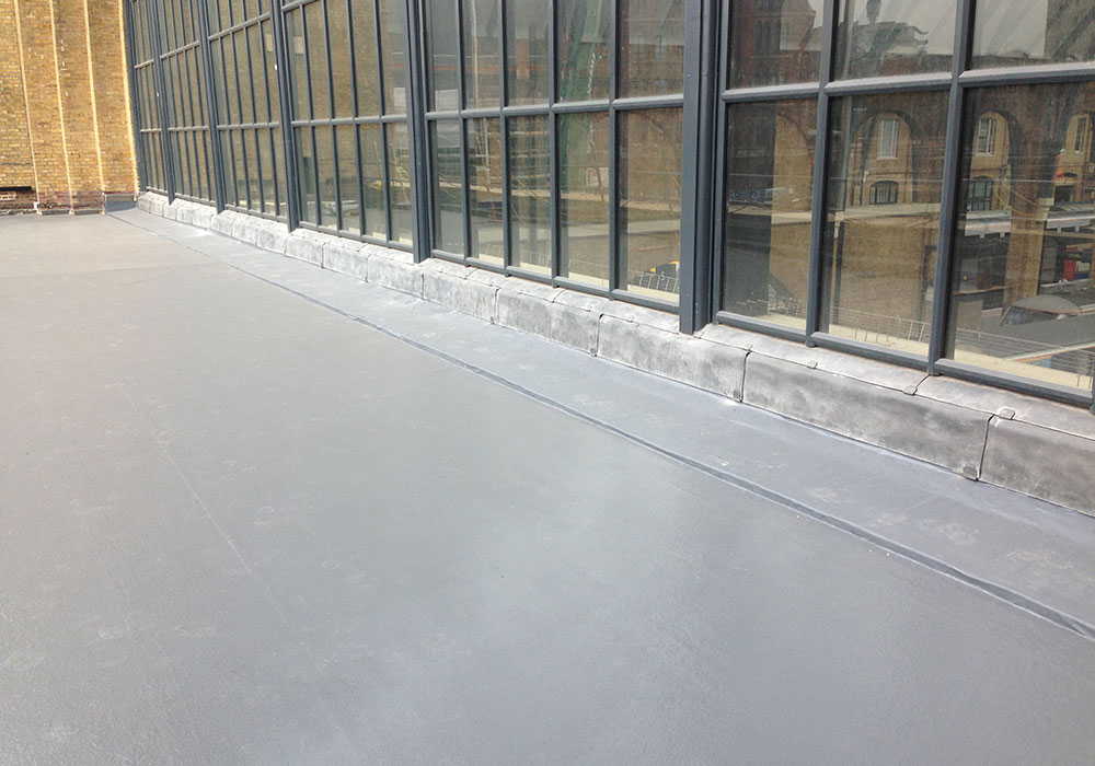 Liquid Applied Membranes Completed project for Havering Building Services