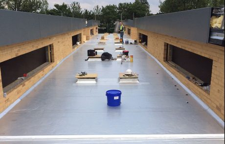 GRP roofing