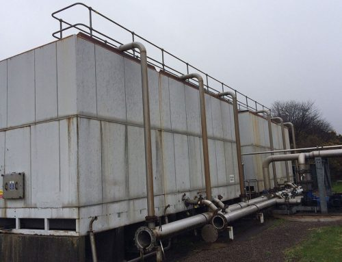 Cooling Tower Refurbishment, Scotland | Internal and External | LAM GRP Lining