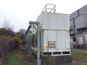 Cooling tower Elgin before