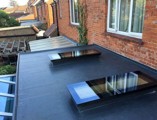 GRP Fibreglass Flat Roofing