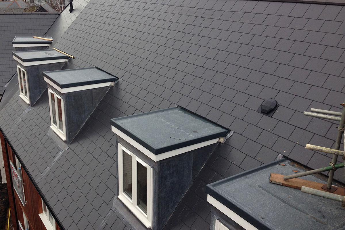 fibreglass dormer roofs