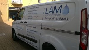 LAM works van