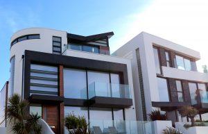 modern fibreglass roofing