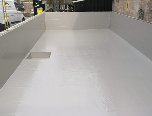 Bund Lining, Afterton | 2K polymers | LAM GRP Lining