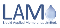 LAM GRP Lining System | Liquid Applied Membranes Logo