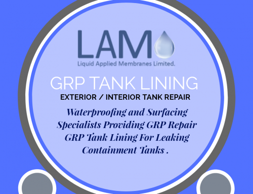 GRP Repair and Re-Lining for Tanks